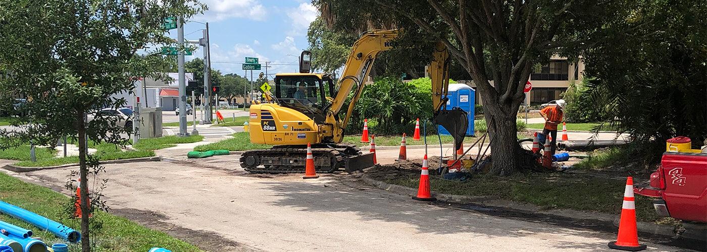Construction site in Palma Ceia Pines segment